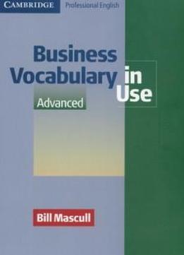 bill mascull business vocabulary in use advanced pdf