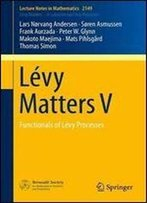 Levy Matters V: Functionals Of Levy Processes