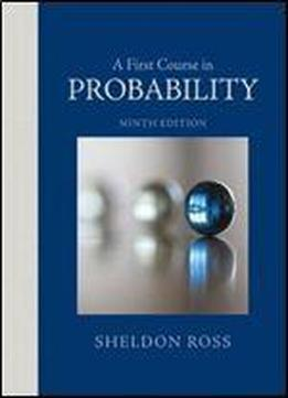 first course in probability ross 9th edition pdf download