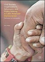 Civil Society Organizations, Advocacy, And Policy Making In Latin American Democracies: Pathways To Participation