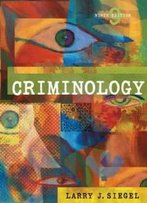Criminology (With Cd-Rom And Infotrac)