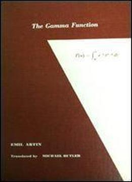 The Gamma Function (athena Series Selected Topics In Mathematics