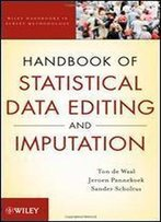 Handbook Of Statistical Data Editing And Imputation