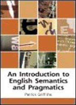An Introduction To Old English (textbooks On The English