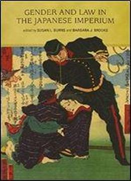 Gender And Law In The Japanese Imperium