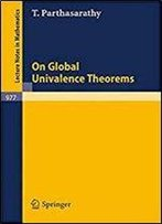 On Global Univalence Theorems (Lecture Notes In Mathematics, Vol. 977)