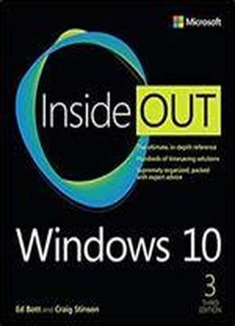 Windows 10 Inside Out, Third Edition