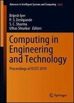Computing In Engineering And Technology: Proceedings Of Iccet 2019