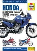 Honda Xl600/650v And Xrv750 Africa Twin (Haynes Service And Repair Manuals)