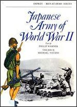 Japanese Army Of World War Ii (men-at-arms 20)