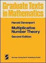 Multiplicative Number Theory (Graduate Texts In Mathematics, Vol. 74)