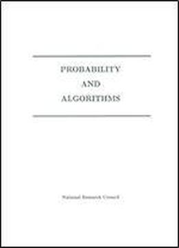Probability And Algorithms
