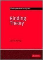 Binding Theory (Cambridge Textbooks In Linguistics)
