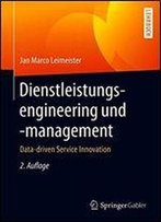 Dienstleistungsengineering Und -Management: Data-Driven Service Innovation