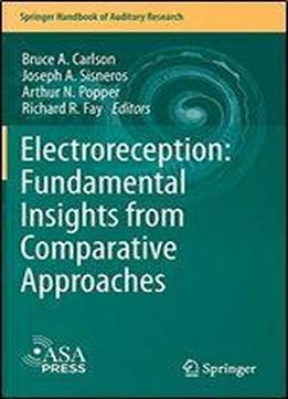 Electroreception: Fundamental Insights From Comparative Approaches (springer Handbook Of Auditory Research)