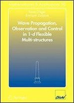 Wave Propagation, Observation And Control In 1-D Flexible Multi-Structures