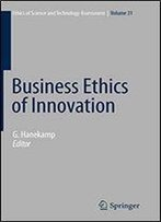 Business Ethics Of Innovation