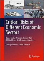 Critical Risks Of Different Economic Sectors