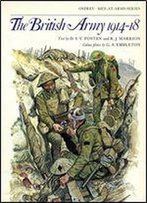 The British Army 1914-18 (Men-At-Arms Series 81)