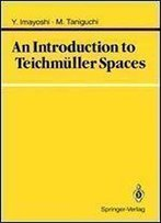 An Introduction To Teichmuller Spaces