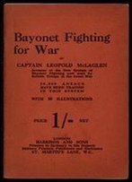 Bayonet Fighting For War