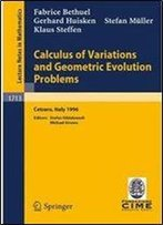 Calculus Of Variations And Geometric Evolution Problems