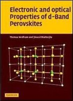 Electronic And Optical Properties Of D-Band Perovskites