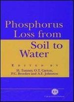 Phosphorus Loss From Soil To Water