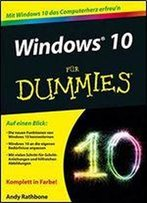 Windows 10 Fur Dummies