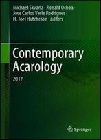 Contemporary Acarology: 2017
