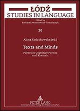 Texts And Minds: Papers In Cognitive Poetics And Rhetoric
