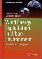 Wind Energy Exploitation In Urban Environment: Turbwind 2017 Colloquium (Green Energy And Technology)