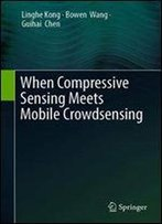 When Compressive Sensing Meets Mobile Crowdsensing