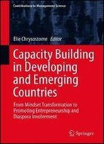 Capacity Building In Developing And Emerging Countries: From Mindset Transformation To Promoting Entrepreneurship And Diaspora Involvement