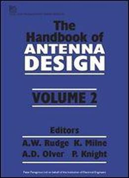 The Handbook Of Antenna Design Download