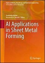 Ai Applications In Sheet Metal Forming (Topics In Mining, Metallurgy And Materials Engineering)