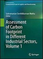 Assessment Of Carbon Footprint In Different Industrial Sectors, Volume 1 (Ecoproduction)