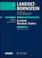 Excited Nuclear States - Nuclei With Z=48-60