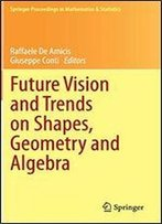 Future Vision And Trends On Shapes, Geometry And Algebra (Springer Proceedings In Mathematics & Statistics)