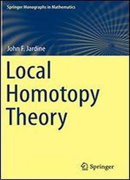 Local Homotopy Theory Download