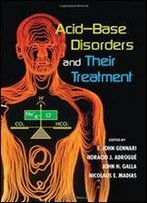 Acid-Base Disorders And Their Treatment