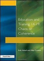 Education And Training 14-19 (The Manchester Metropolitan University Education Series)