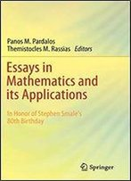 Essays In Mathematics And Its Applications: In Honor Of Stephen Smale S 80th Birthday