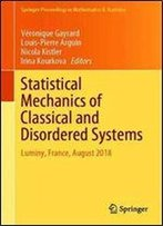 Statistical Mechanics Of Classical And Disordered Systems: Luminy, France, August 2018 (Springer Proceedings In Mathematics & Statistics)