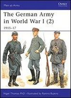 The German Army In World War I (2): 191517