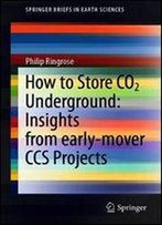 How To Store Co2 Underground: Insights From Early-Mover Ccs Projects (Springerbriefs In Earth Sciences)