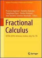 Fractional Calculus: Icfda 2018, Amman, Jordan, July 16-18