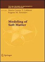 Modeling Of Soft Matter (The Ima Volumes In Mathematics And Its Applications)
