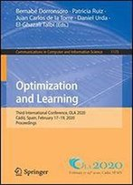 Optimization And Learning: Third International Conference, Ola 2020, Cadiz, Spain, February 1719, 2020, Proceedings (Communications In Computer And Information Science)