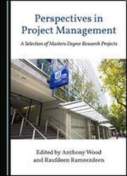 Perspectives In Project Management